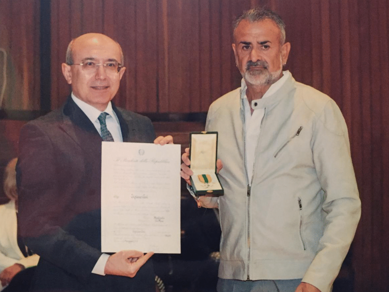 Tiziano Cosi, Maestro del Lavoro della Repubblica Italiana